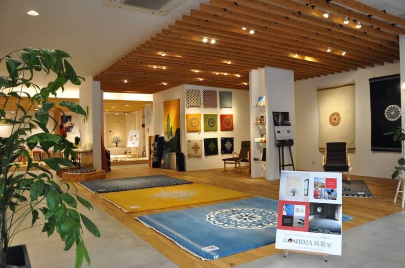 GOSHIMA絨毯 展 in高松