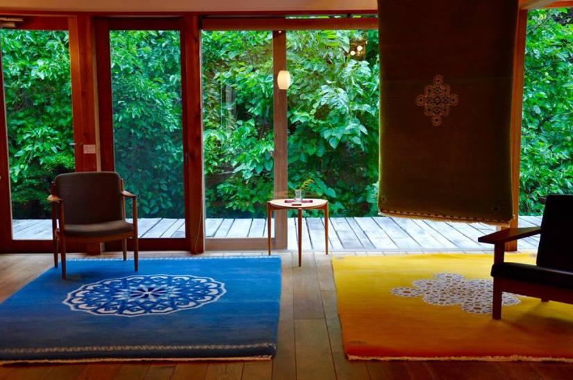 GOSHIMA絨毯 展 in高山